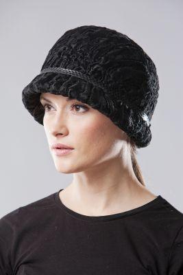 Karakulio kailio skrybėlaitė, juoda