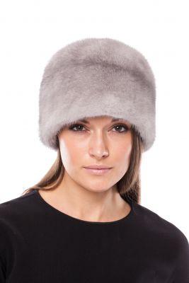 Audinės kailio kepurė Varpelis pilka