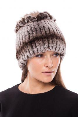 Megzta Rex kailio kepurė Mimoza, ruda