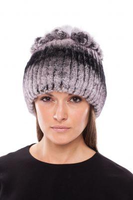 Megzta Rex kailio kepurė Mimoza, pilka