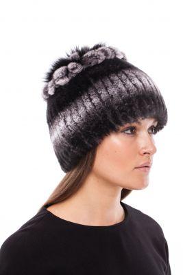 Megzta Rex kailio kepurė Mimoza, juoda