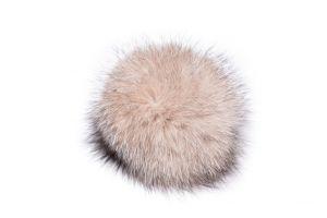 Lapės kailio bumbulas gelsvas frost