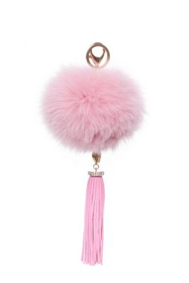 Pakabukas su aksesuaru rožinis