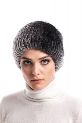 REX kailio kepurė pilka